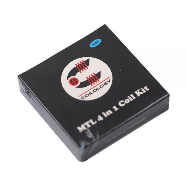 Coilology Pre Built MTL 4-in-1 24pcs [Ni80]