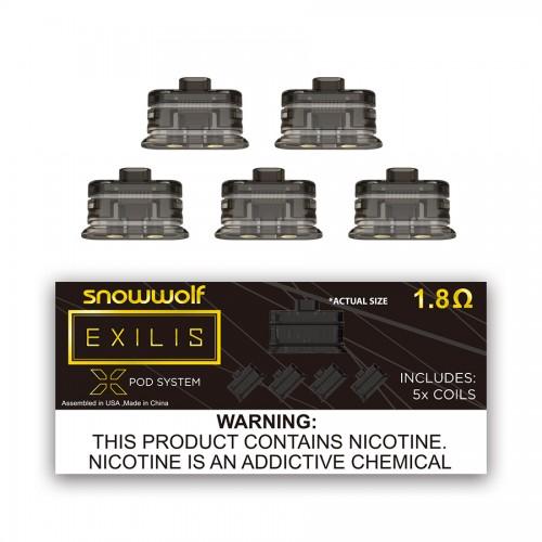 Snowwolf Exilis Xpod Coils - 5 Pack